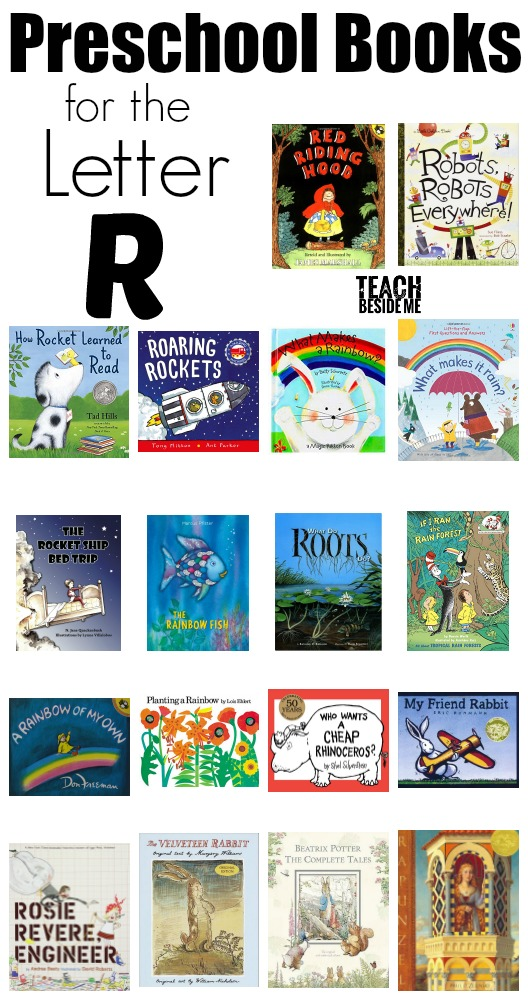 Preschool Letter R Books