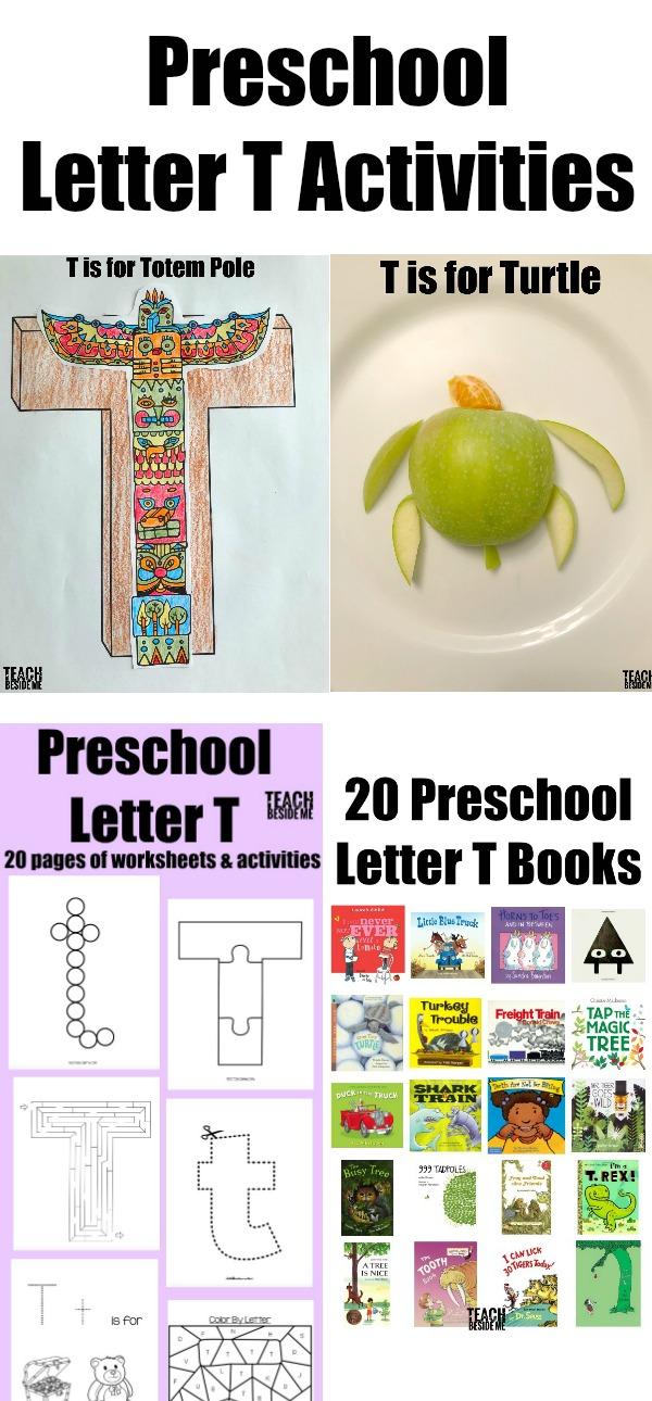 Preschool Letter T Activities