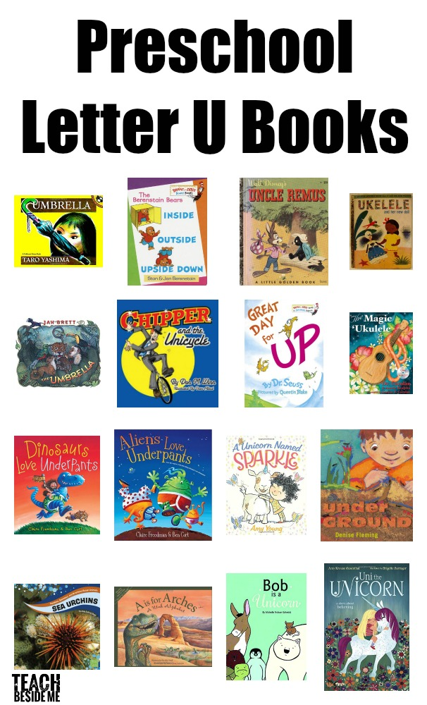 Preschool Letter U Books