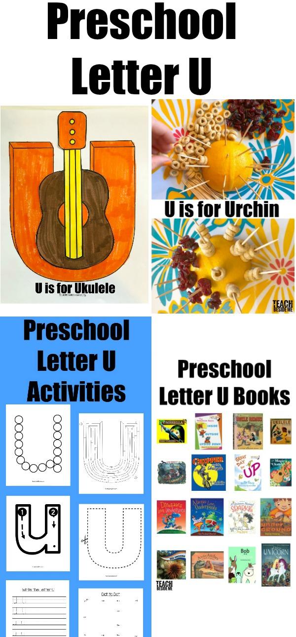 preschool letter u