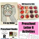 Letter of the Week: Preschool Letter R Activities