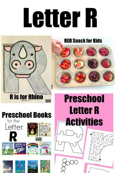 Letter of the Week: Preschool Letter R Activities