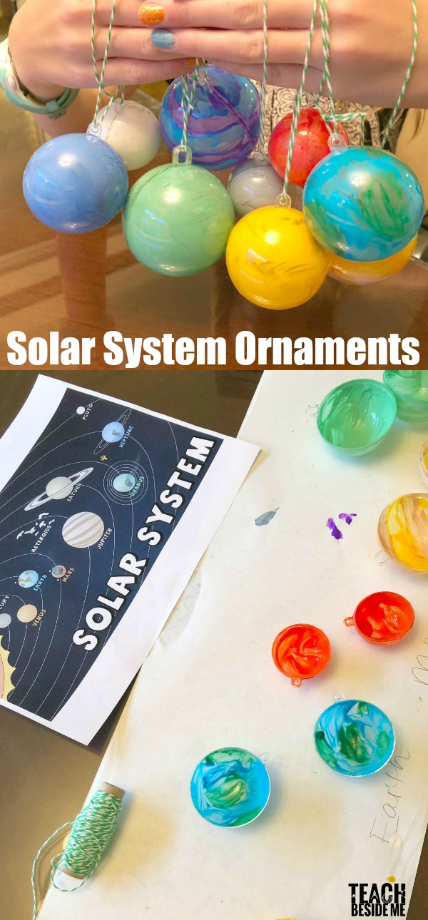 Solar System Christmas Ornaments
