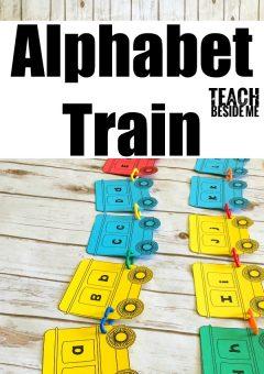 Preschool Alphabet Train