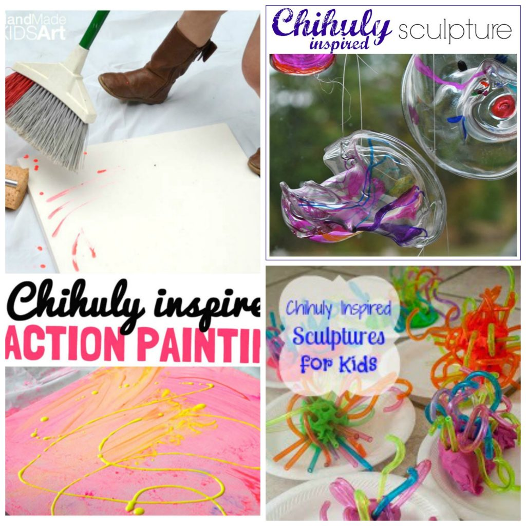 chihuly art projects for kids