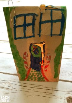 Christmas STEM: Gingerbread House Paper Circuits