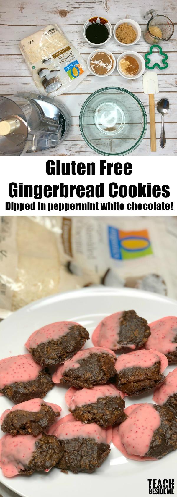 Vegan Gluten Free Gingerbread Cookies