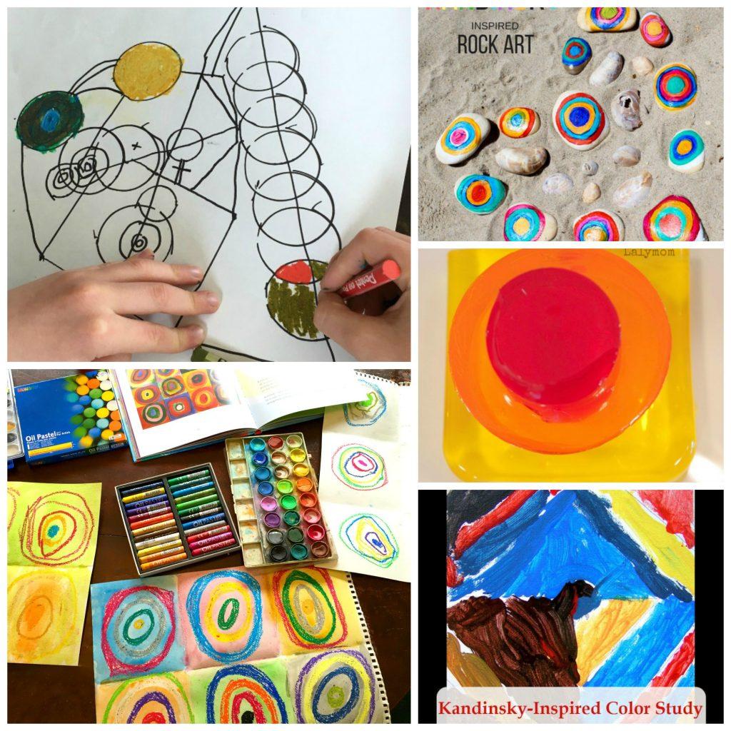 kandinsky art projects for kids