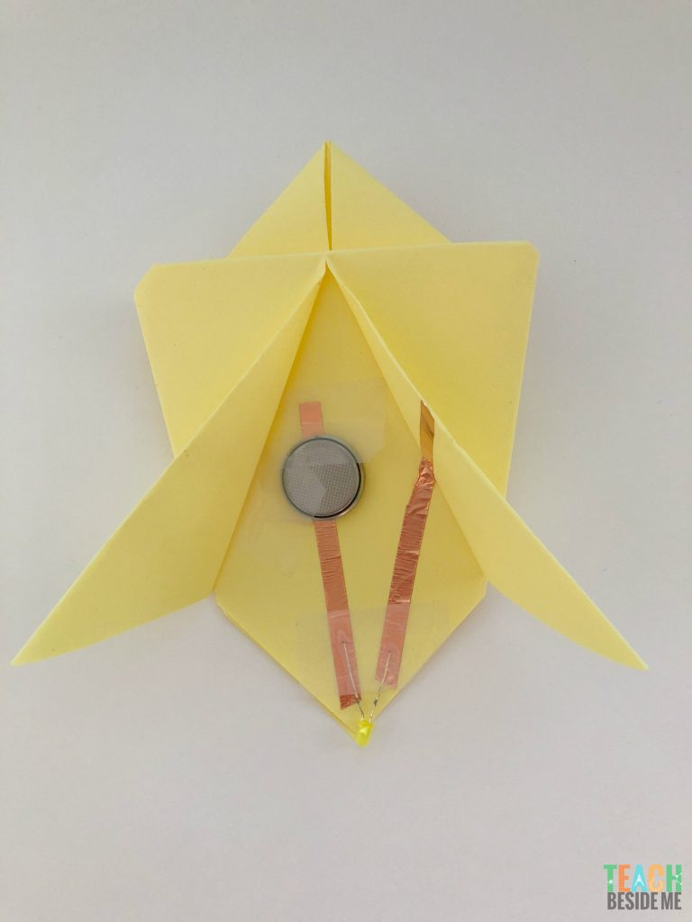 paper circuit firefly