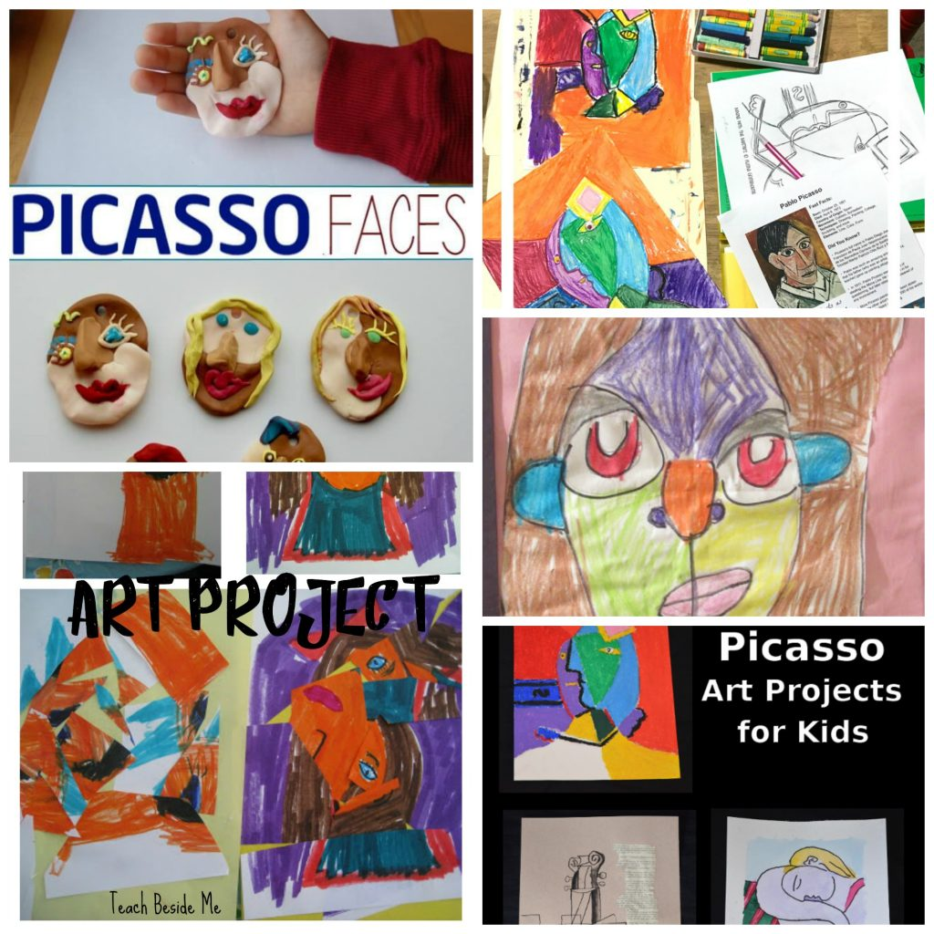 picasso art projects for kids