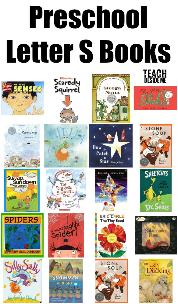preschool Letter S Books