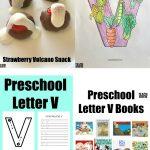 Letter of the Week: Preschool Letter V Activities
