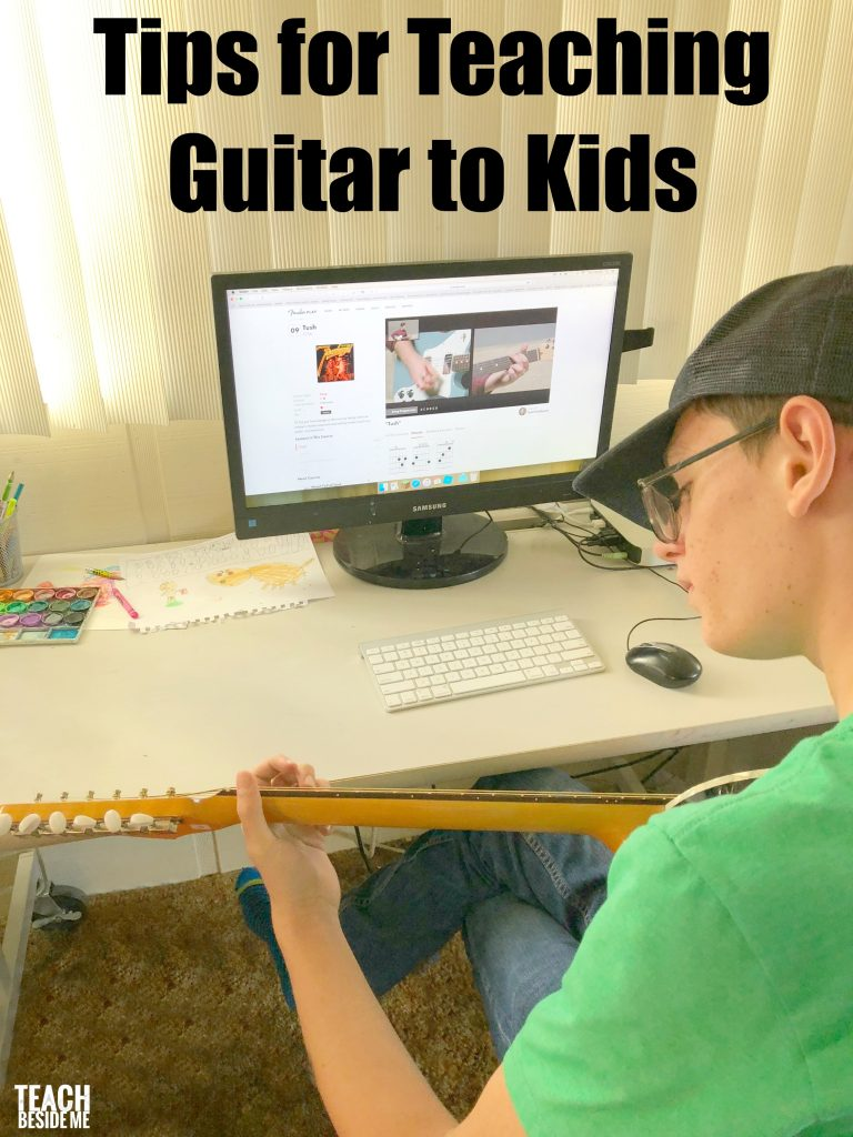 Tips for Teaching Guitar to Kids