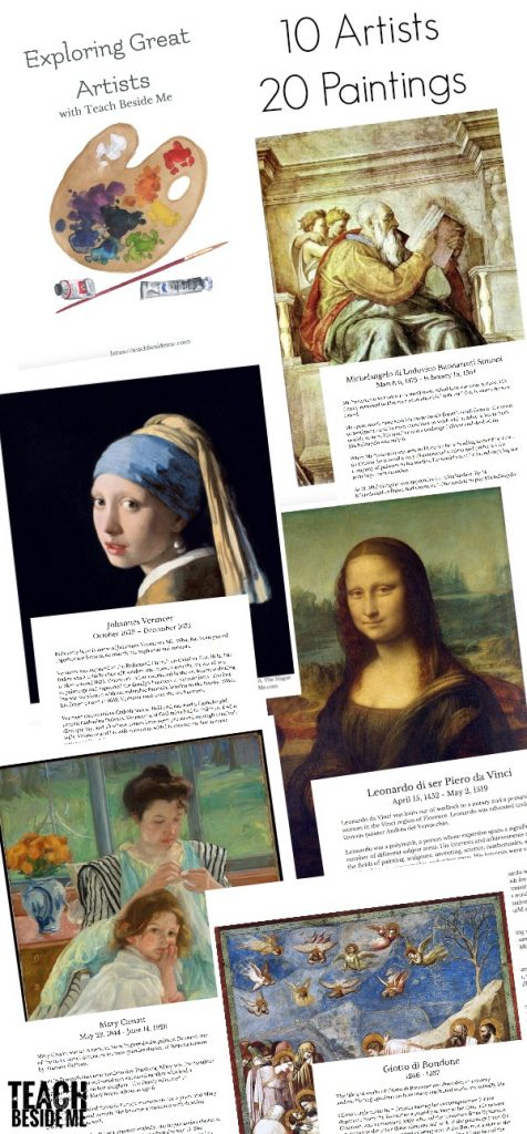 art history projects by famous artists