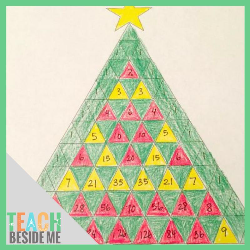 Christmas Math.Pascal S Triangle Christmas Tree Math