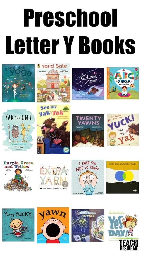 Preschool Letter Y Books