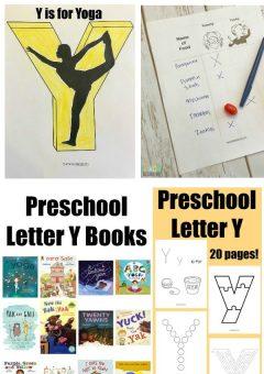 Letter of the Week: Preschool Letter Y Activities