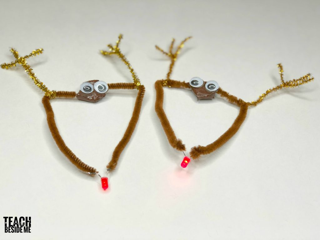 rudolph circuits- Christmas STEM
