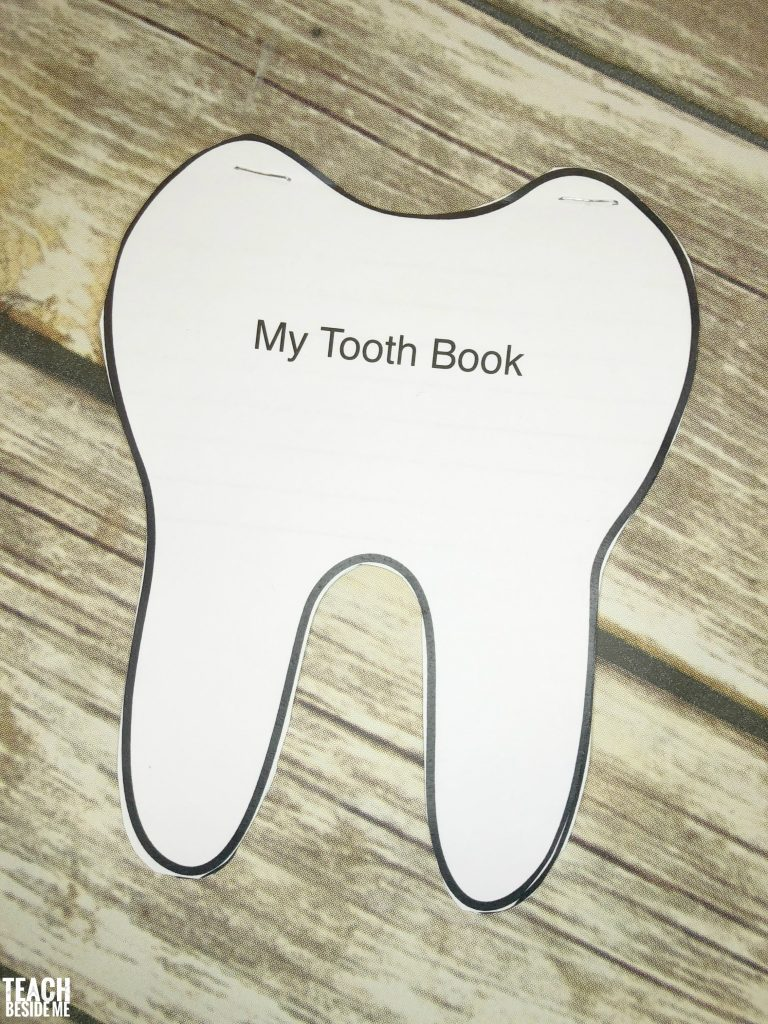 tooth book- dentist for kids