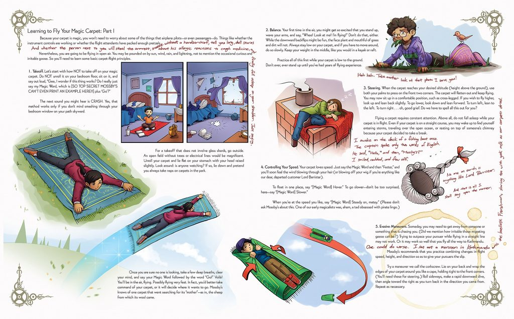magic carpet handbook