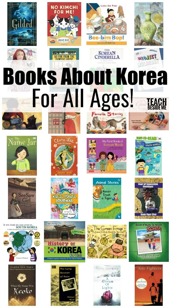 Read Around the World South Korea unit Books