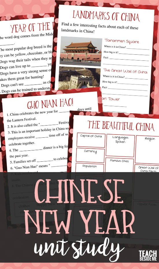 Chinese New Year Unit Study