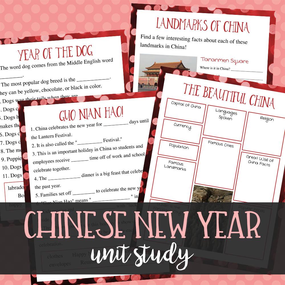 chinese new year unit study 550