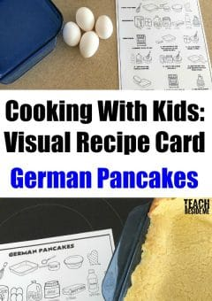 Kids Cooking Lesson: German Pancakes