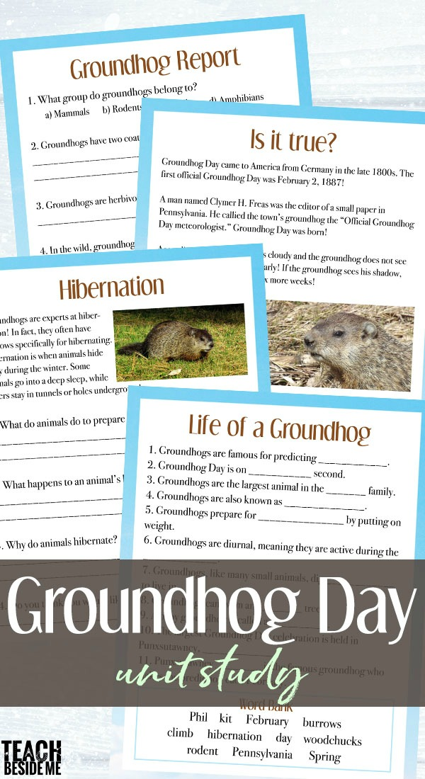 Groundhog Day Unit Study