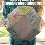 3D Shape Template- Rhombicuboctahedron