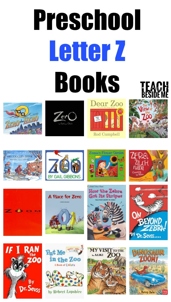 preschool letter z books