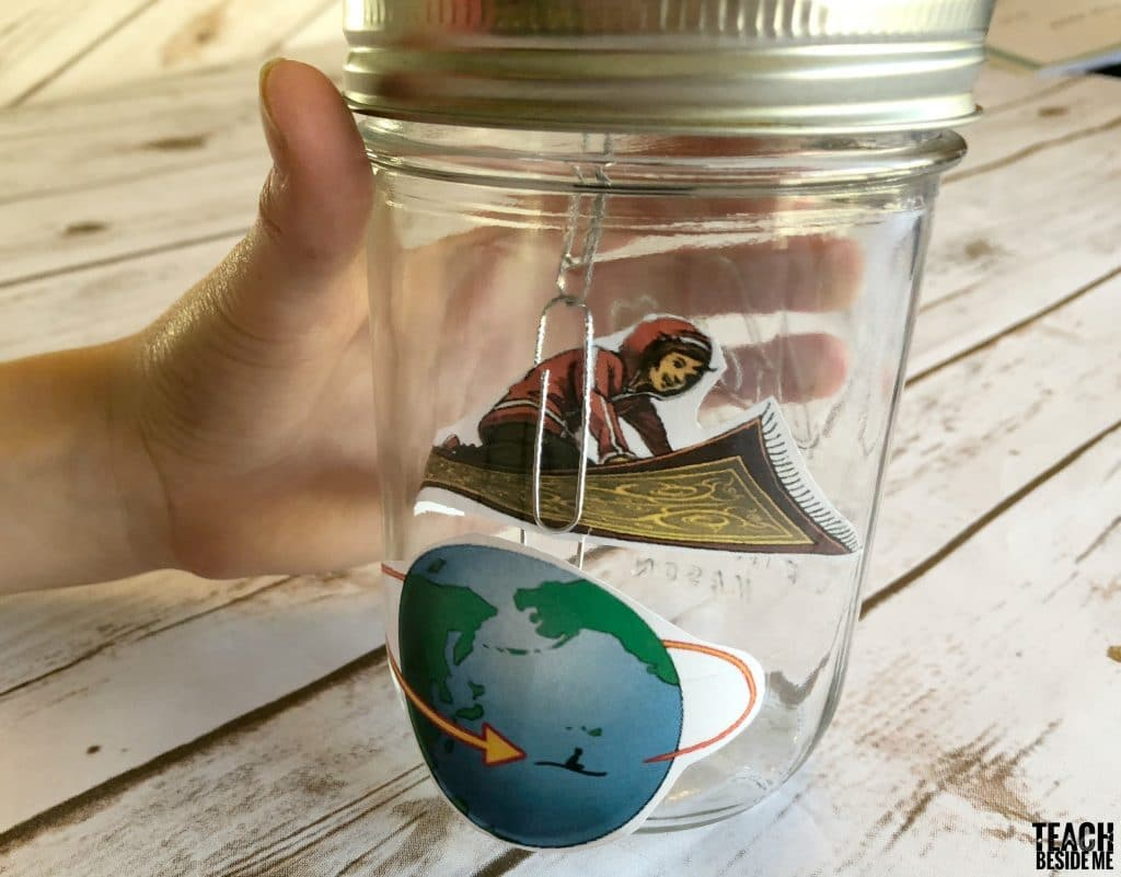 magic flying carpet in a jar craft