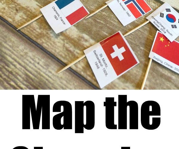 Map the Olympics