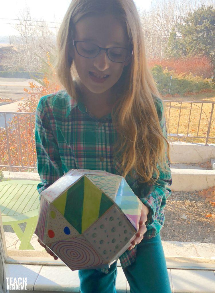 3-d shape- rhombicuboctahedron