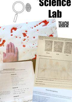 Crime Scene Science Lab Lesson