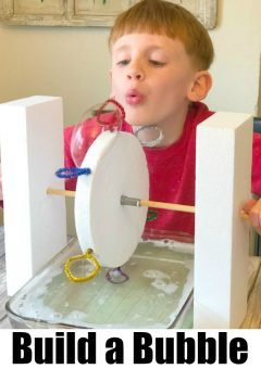 STEM Engineering for Kids: Make a Bubble Blower Machine