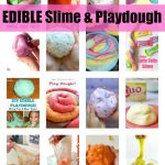 40+ Edible Slime and Play Dough Recipes