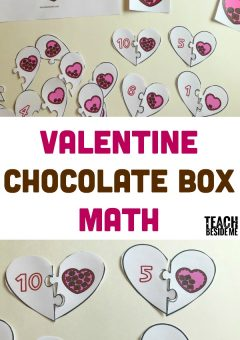Valentine Chocolate Box Math