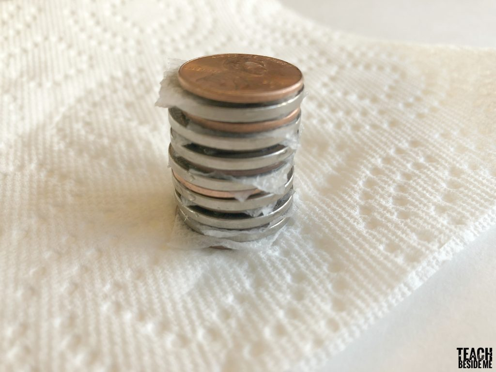 coin battery stack