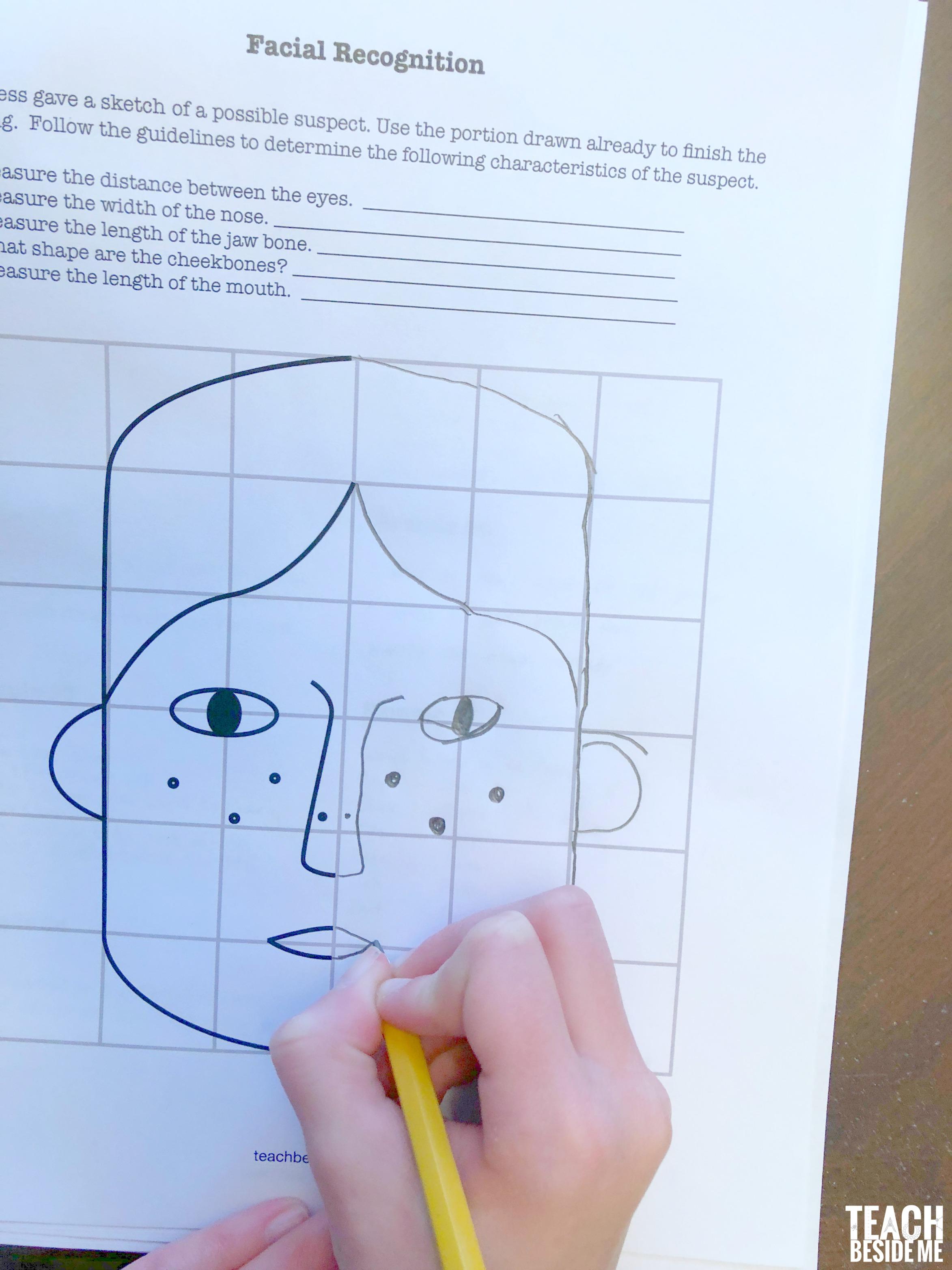 crime scene science facial recognition