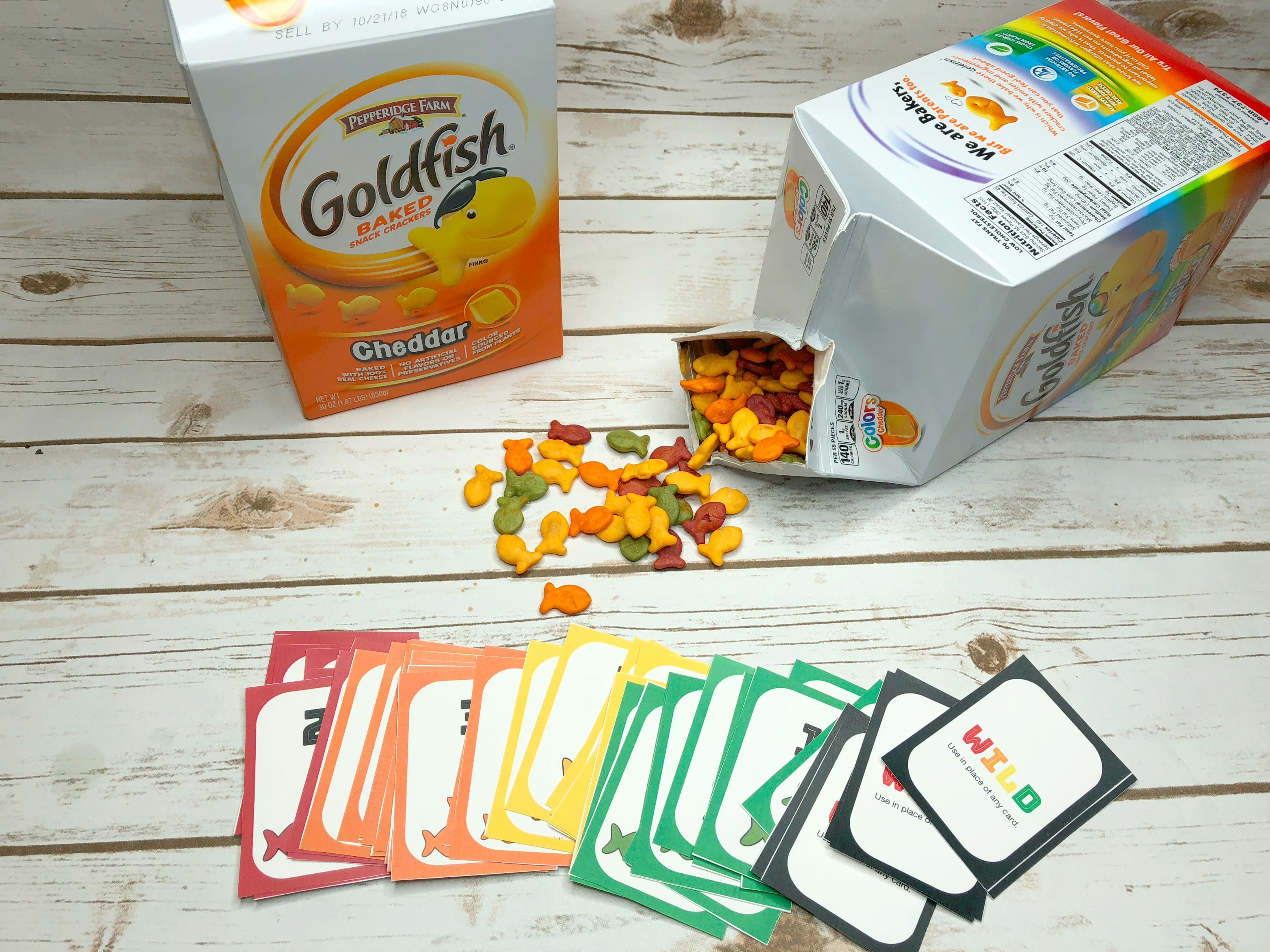 Goldfish catch a number card game teach beside me for How do you play go fish card game