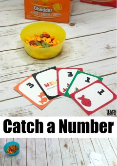 Goldfish Catch-a-Number Card Game