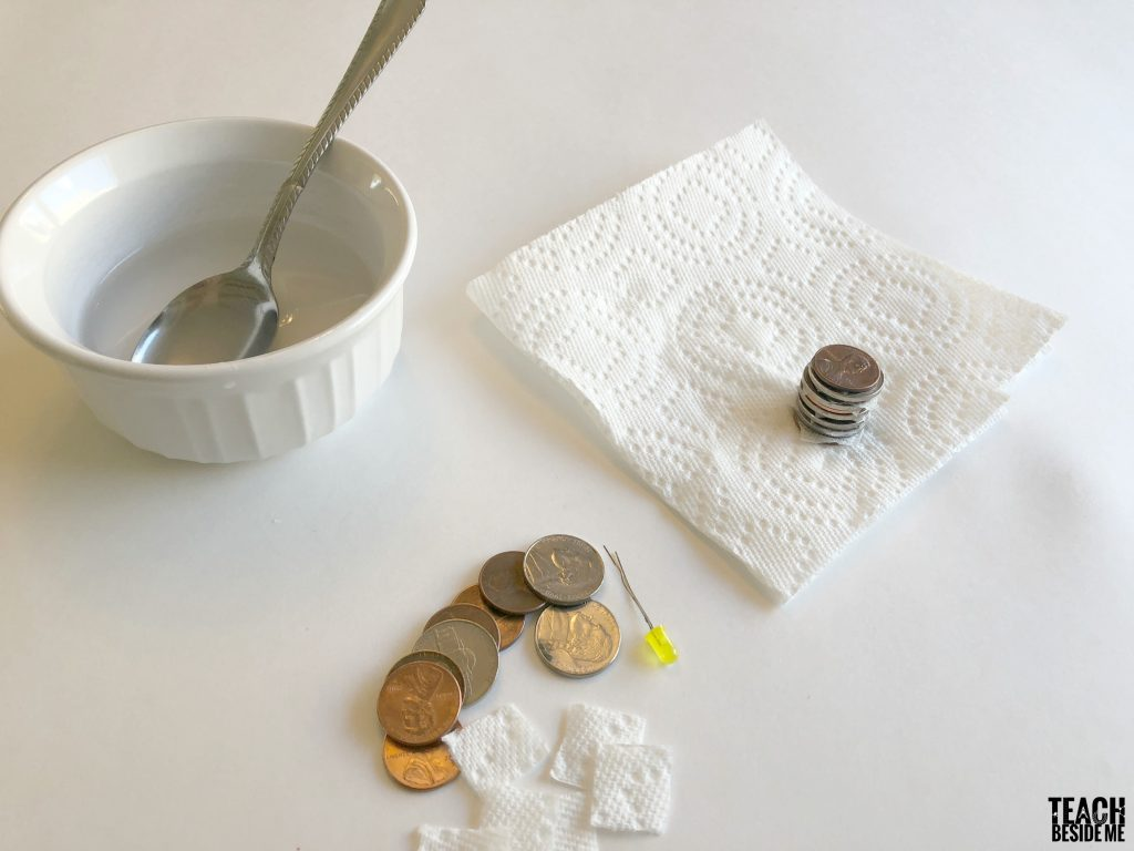 making a coin battery