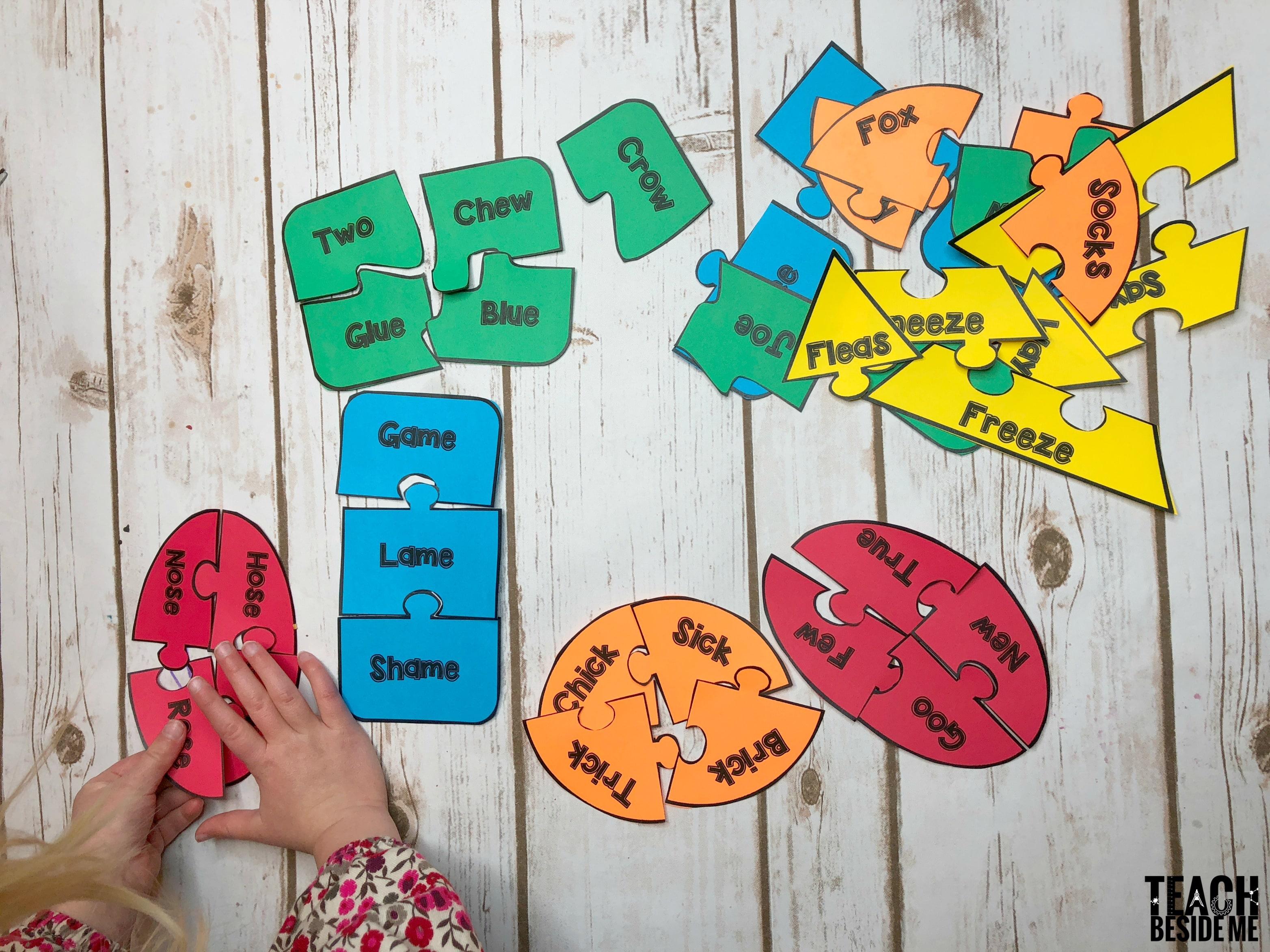 Fox In Socks Rhyming Word Puzzles – Teach Beside Me