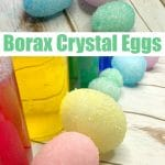 Easter Science: Borax Crystal Eggs