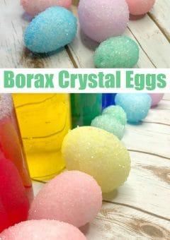Easter Science: Borax Crystal Eggs