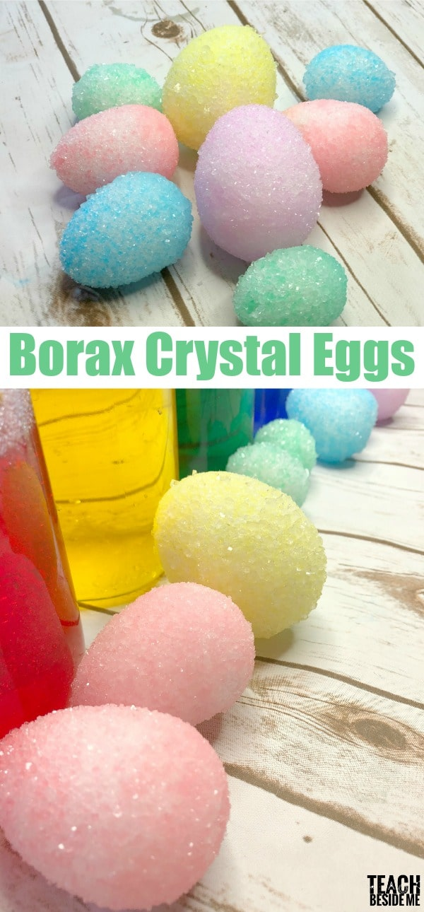 easter science borax crystal eggs. Black Bedroom Furniture Sets. Home Design Ideas