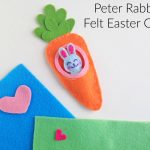 Peter Rabbit Felt Easter Craft