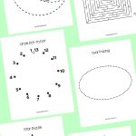 Preschool Shapes Learning Pack