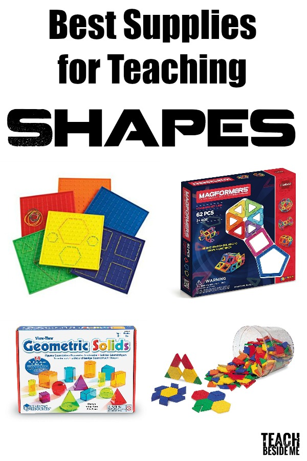 preschool shapes learning pack teach beside me